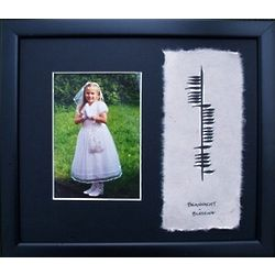 Ogham Blessing Picture Frame