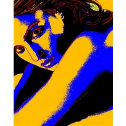 Monica Bellucci Pop Art Print