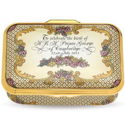 Collectible Royal Baby Trinket Box