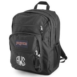 Black Oversized Student Backpack
