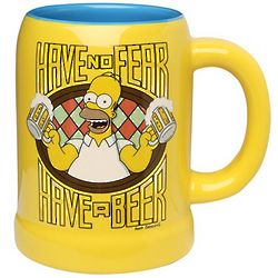 The Simpsons Homer Stein