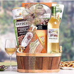 Rock Falls Vineyards Pinot Grigio Gift Basket