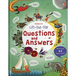 Questions and Answers Children's Hardcover Book