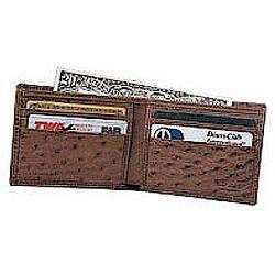 Ostrich Slim Fold Wallet