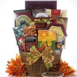Thanksgiving Wishes Gourmet Gift Basket