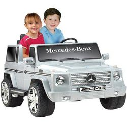 Battery-Powered Mercedes Benz Ride-on Car