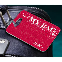 Personalized My Bag Luggage Tag