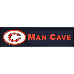 Chicago Bears Wooden Man Cave Sign