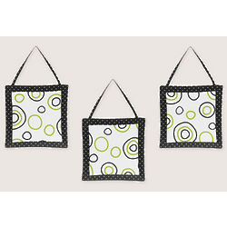 Spirodot Lime and Black Wall Hangings