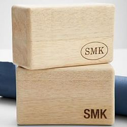 Personalized Wooden Yoga Block