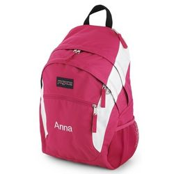 Pink and White Wasabi Laptop Backpack