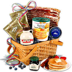 Hickory Smoked Bacon Breakfast Gift Basket