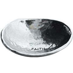 Faith Small Pewter Valet Dish