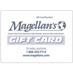 Magellan's $25 Gift Certificate