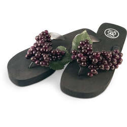 Red Grape Sandals