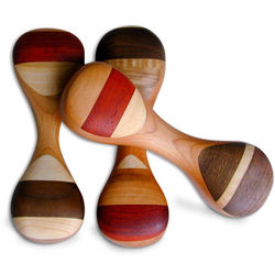 Heirloom Wooden Baby Rattle