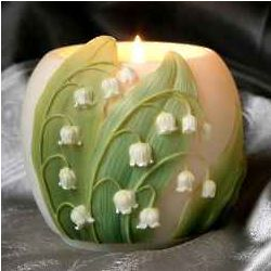 Lily of the Valley Votive Candle Holder