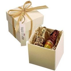 Liquor Filled Chocolate Bottles Favor Box