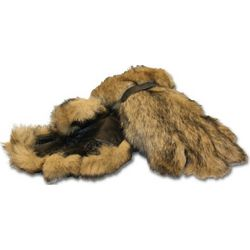 Bearclaw Oversized Rabbit Fur Gloves