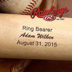 Personalized Wedding Party Baseball Bat
