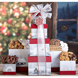 Deluxe Holiday Cookie Tower
