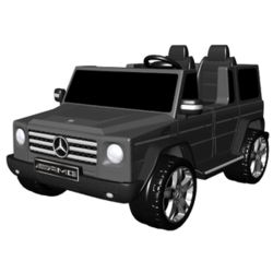 Black Battery-Powered Mercedes Benz Ride-on Toy