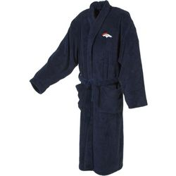 Denver Broncos Men's Ultra Plush Bathrobe