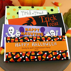 Personalized Halloween Candy Wrapper