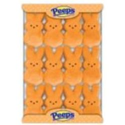 Marshmallow Peeps Orange Easter Bunnies