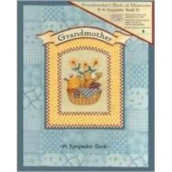 Grandmother's Book of Memories Keepsake Book
