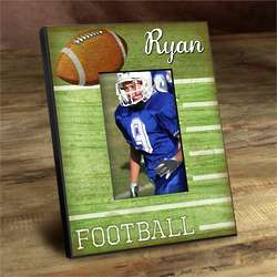 Personalized Kid's Football Picture Frame