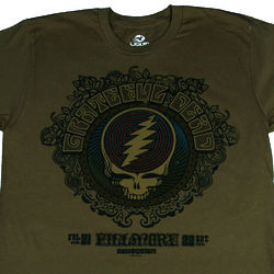 Grateful Dead at the Fillmore T-Shirt