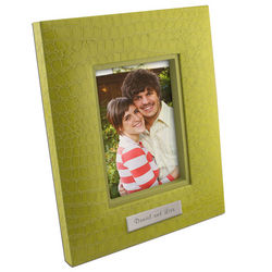 Granny Smith Croc Personalized 5x7 Photo Frame