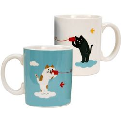 Social Kitties Mug Set