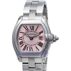 Cartier Roadster Pink Ladies Watch