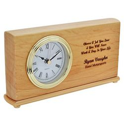 Choose a Job You Love Desk Clock
