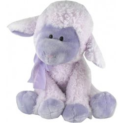 Lulu Stuffed Plush Purple Lamb