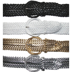 """2"""" Wide Braided Belt"""