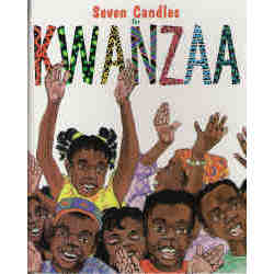 Seven Candles for Kwanzaa Personalized Children's Book