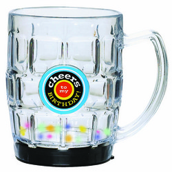 Birthday Cheers Light Up Beer Mug