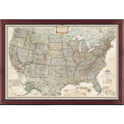 Pin-Your-Journeys Personalized United States Map