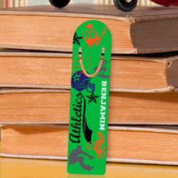 Personalized Super Sport Bookmark