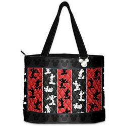 Disney Mickey Mouse Quilted Tote Bag