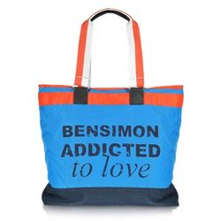 Addicted to Love Nylon Tote Bag
