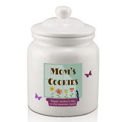 Personalized Cookie Jar for Mom