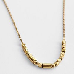 Morse Code Sisters Necklace