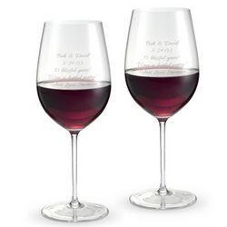 Riedel Sommelier Anniversary Bordeaux Glasses