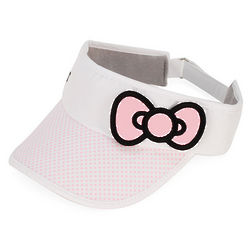 Pink Hello Kitty Tennis Bow Visor