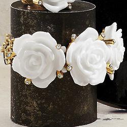 3D Roses Bracelet