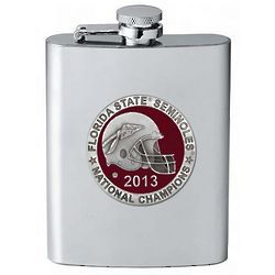 Florida State 2013 National Champions Flask